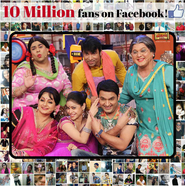 Kapil Sharma thanks his fans as Comedy Nights With Kapil's Facebook page hits 10 million 'likes'!