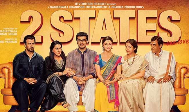 Alia Bhatt Arjun Kapoor starrer 2 States to be made in Telugu and Tamil!