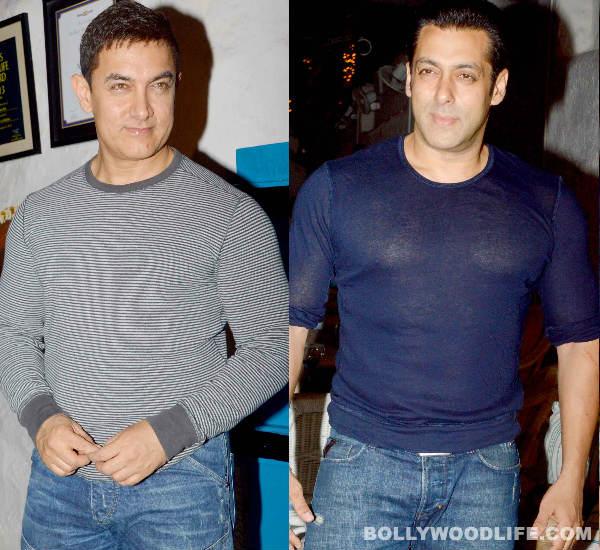 Salman Khan and Aamir Khan attend Tiger Shroff's Heropanti success party- View pics!