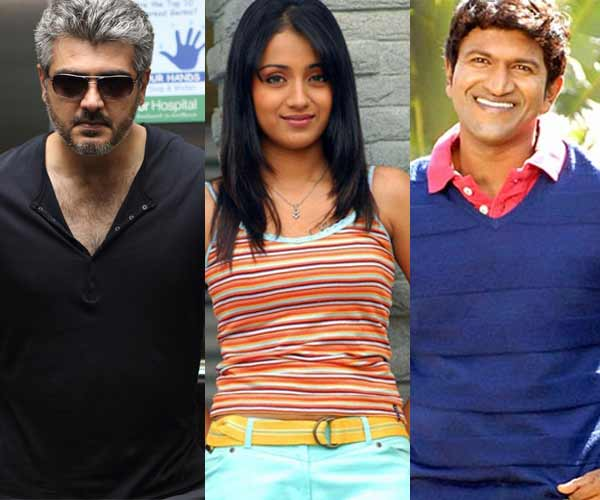 Trisha should choose Ajith Kumar over Puneeth Rajkumar, say fans!