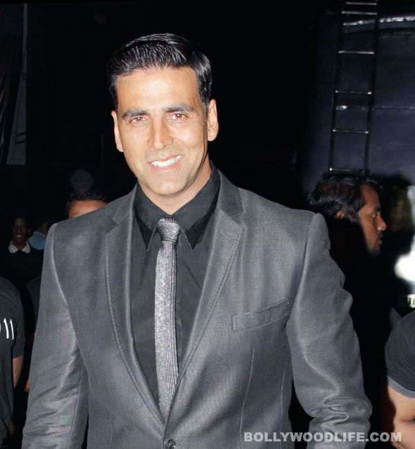 Akshay Kumar: I enjoyed being licked!