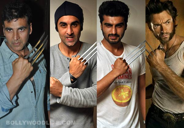 Akshay Kumar, Ranbir Kapoor, Arjun Kapoor - Biggest fans of Hugh Jackman's X-Men Days Of Future Past!