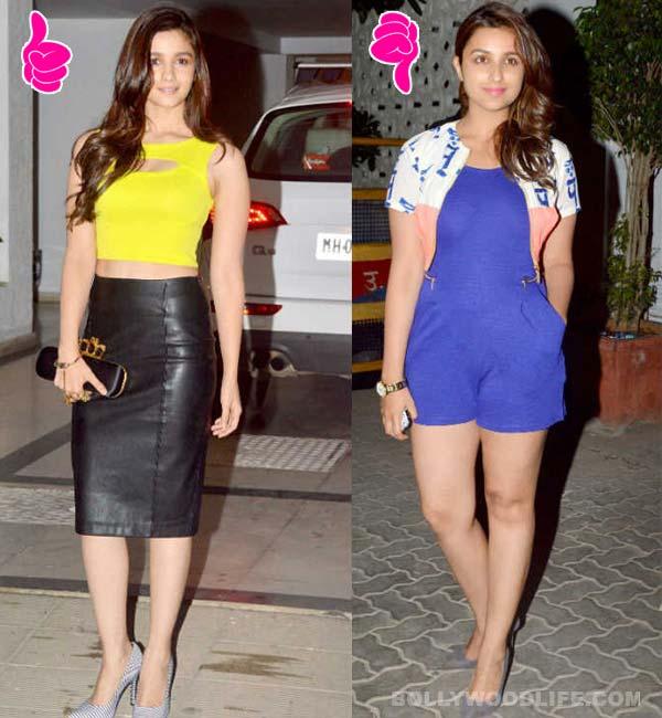 Fashion face-off: Alia Bhatt vs Parineeti Chopra at Karan Johar's birthday