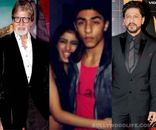 Shahrukh Khan's son bonds with Amitabh Bachchan's granddaughter!