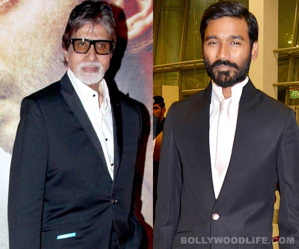 Dhanush to get Amitabh Bachchan's voice!