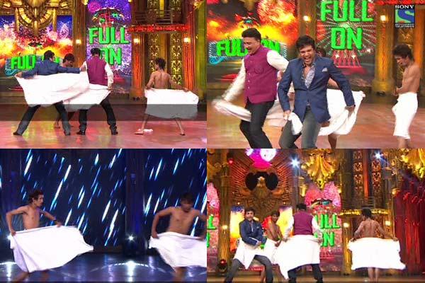Anu Malik and Krushna Abhishek do the towel dance in Entertainment Ke Liye Kuch Bhi Karoge: Watch video!