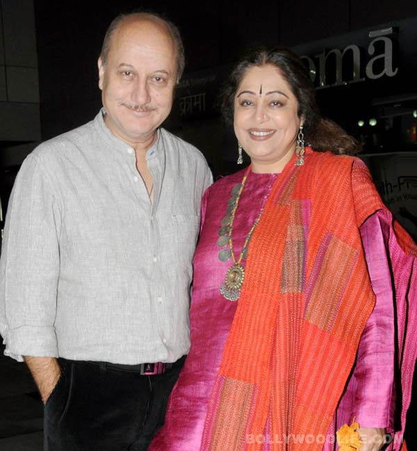 Anupam Kher: Kirron Kher will make a difference