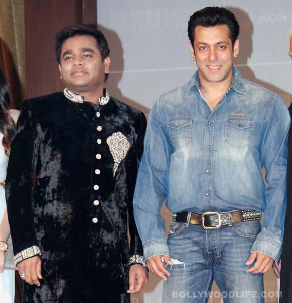 AR Rahman considers Salman Khan's comments about his music sensibilites as a joke!