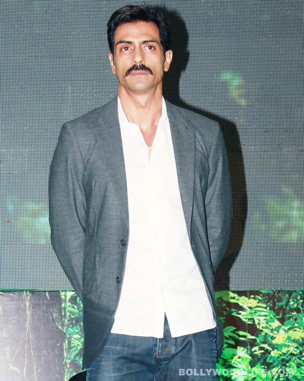 How did Arjun Rampal inspire Mr. India 2014?