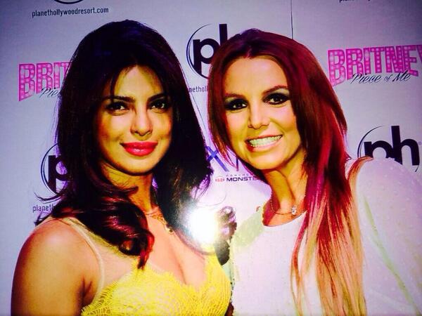 What happened when Priyanka Chopra met Britney Spears?