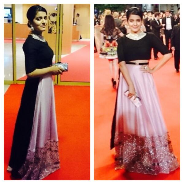 Fukrey actor Vishakha Singh glitters at 67th Cannes Film Festival's red carpet