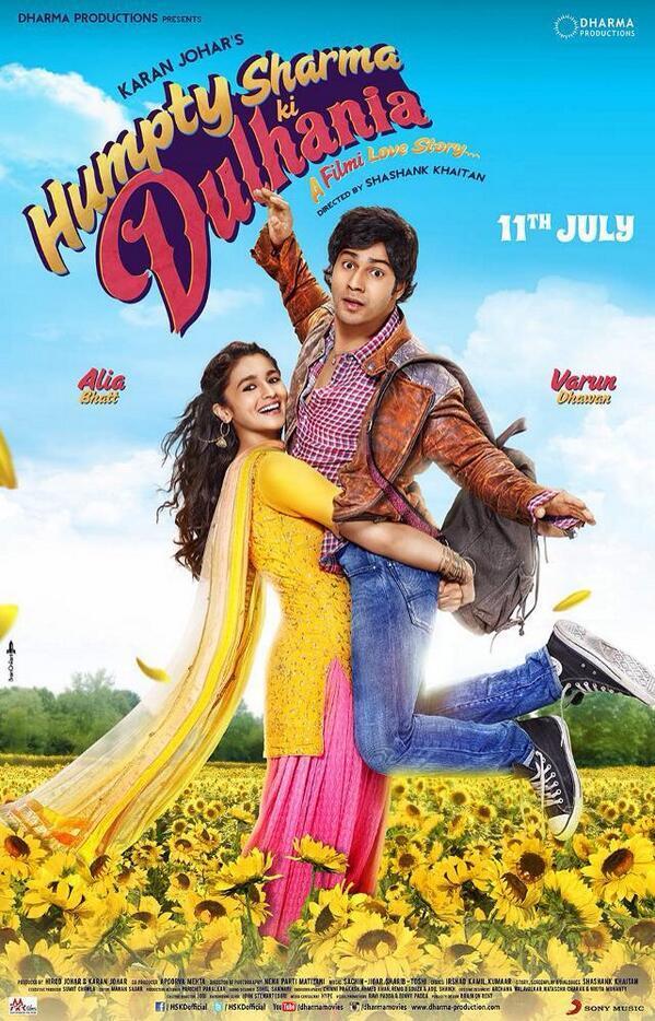 Humpty Sharma Ki Dulhaniya poster: Did Alia Bhatt actually lift Varun Dhawan?