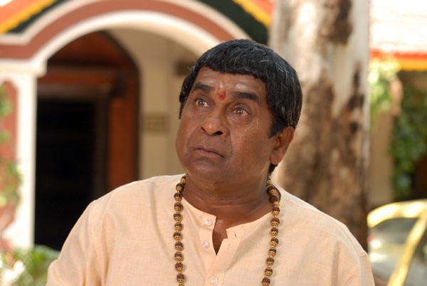 Is Brahmanandam's film title a spoof of Pawan Kalyan song?