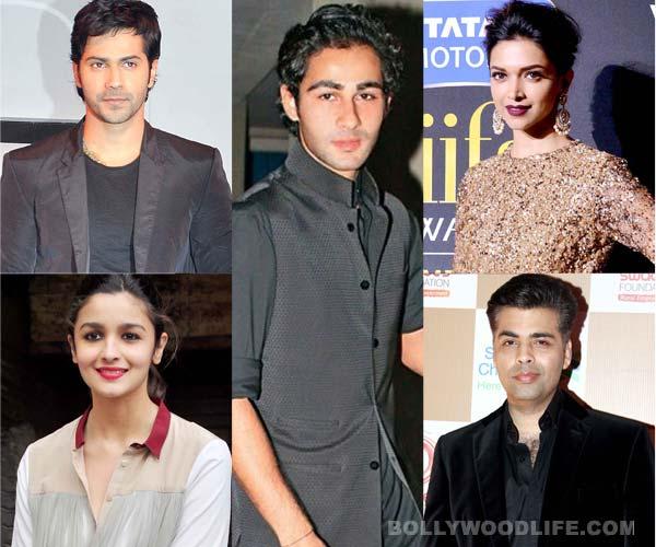 Deepika Padukone, Alia Bhatt and Varun Dhawan welcome Armaan Jain to the glam world
