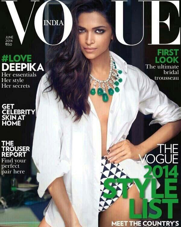 Is Deepika Padukone the best covergirl?