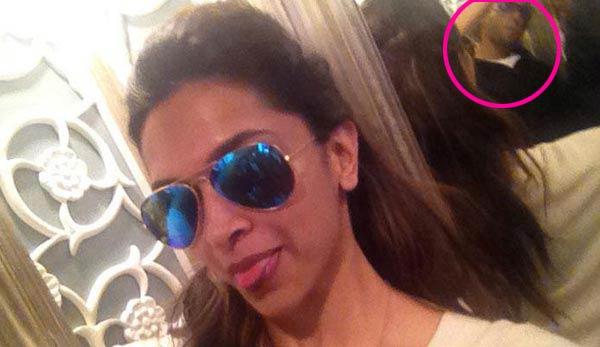Is this Ranveer Singh in the picture with Deepika Padukone?