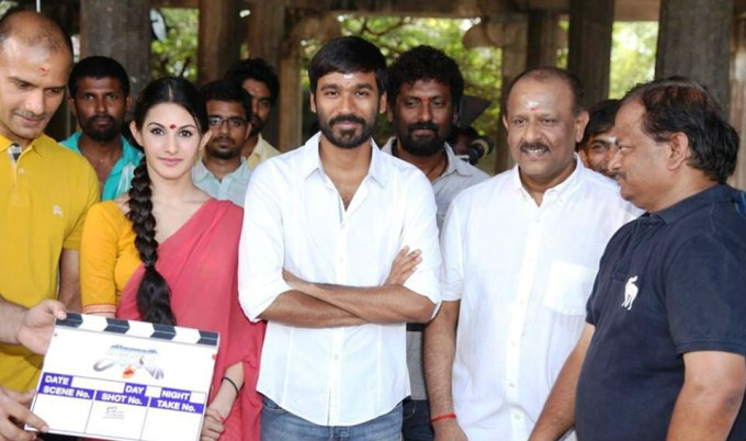 Dhanush and Amyra Dastur to shoot in Scotland for KV Anand's Anegan?