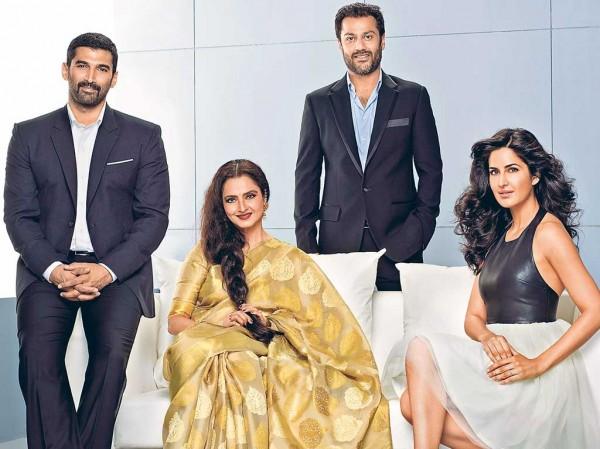 Fitoor first look: Aditya Roy Kapur, Katrina Kaif and Rekha in one frame!