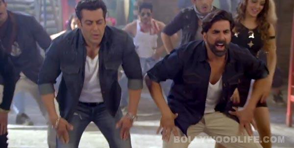 Do you like Salman Khan and Akshay Kumar's spider step?