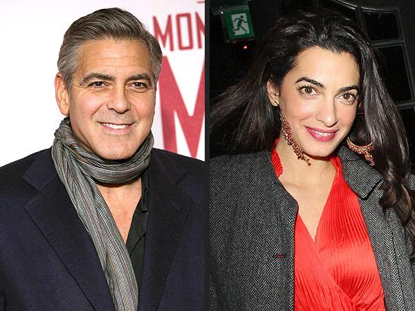 Matt Damon is George Clooney's best man!