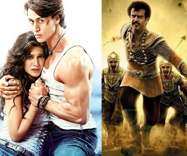 Box office: Tiger Shroff's Heropanti stands tall despite competition from Rajinikanth's Kochadaiiyaan!