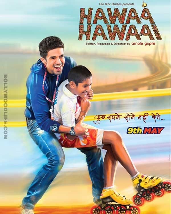 Hawaa Hawaai quick movie review: Saqib Saleem, Partho Gupte and Amol Gupte come together to offer a film of substance!