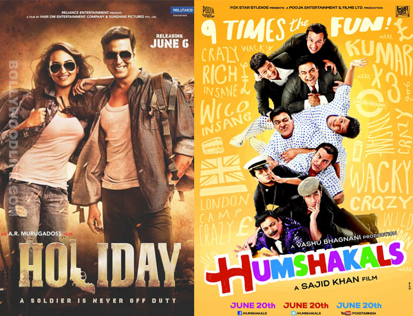 Holiday, Humshakals to lead glut of post IPL releases in June