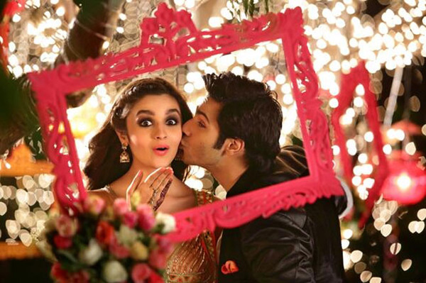 Humpty Sharma Ki Dulhania first look: Varun Dhawan and Alia Bhatt's cute kiss - view pic!
