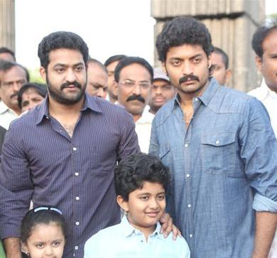 How is Jr NTR making up for his political absence?