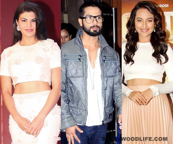 Is Shahid Kapoor confused between Sonakshi Sinha and Jacqueline Fernandez?