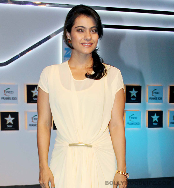 Kajol: I'll do TV only when I'm sure about it!