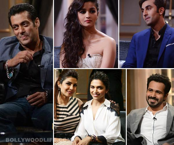 Bollywood's most candid confessions: Salman Khan, Ranbir Kapoor and Alia Bhatt in a revelation mode! Watch video