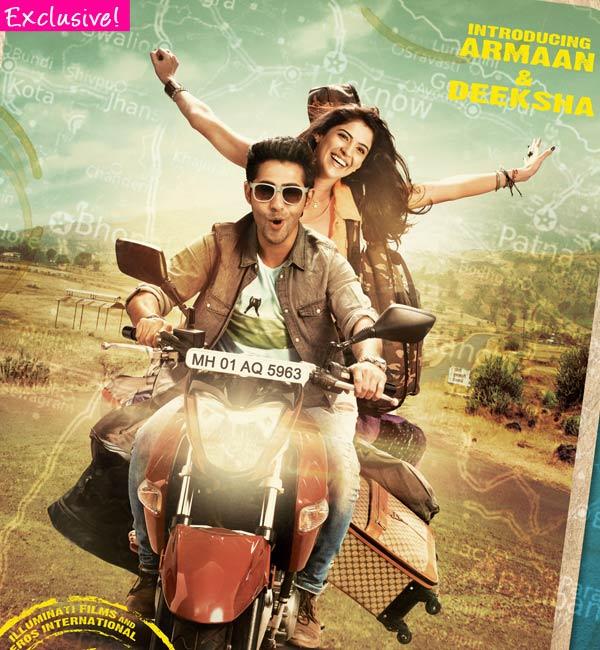 Did Armaan Jain struggle with a bike scene in his debut film?