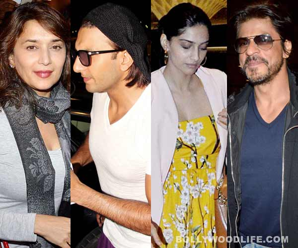 Shahrukh Khan, Sonam Kapoor, Ranveer Singh, Madhuri Dixit: Who looks flight-ready?