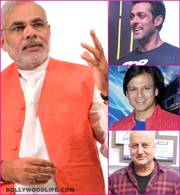 While Rajinikanth skips, Salman Khan, Vivek Oberoi, Anupam Kher to attend Narendra Modi's swearing-in ceremony!
