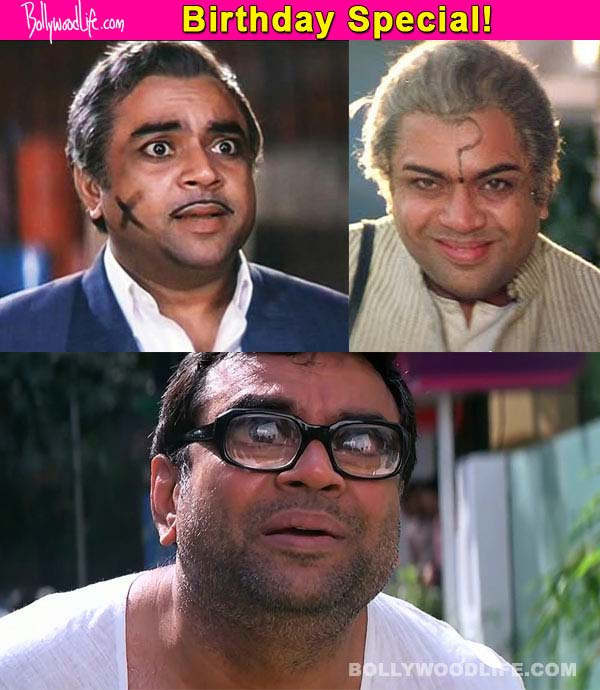 Paresh Rawal birthday special: 5 best comic scenes of the versatile actor!
