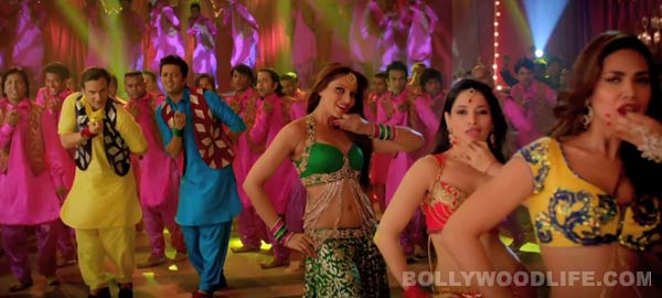 Humshakals song Piya ke bazaar mein teaser: Tamannaah, Bipasha Basu and Esha Gupta flaunt their sexy side!