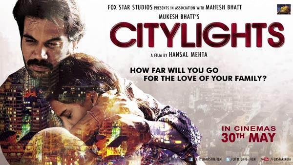 Why does Hansal Mehta think Rajkummar Rao's City Lights is a common man's love story?