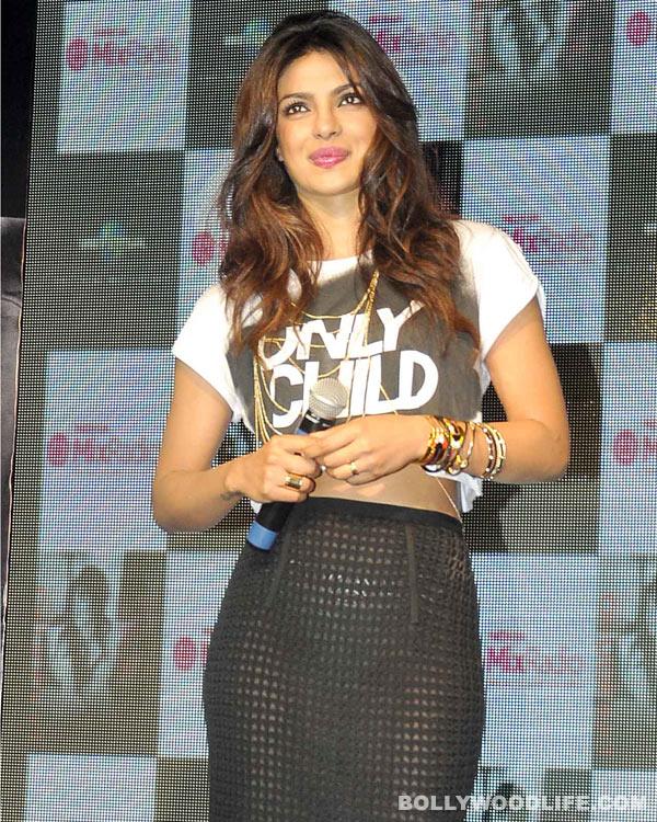 Naughty Priyanka Chopra's sexy act on stage - View pics!