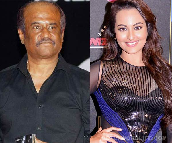 Why was Sonakshi Sinha nervous about working with Rajinikanth?