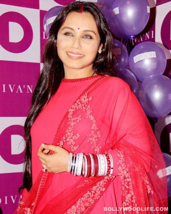 Revealed: Rani Mukerji's Mrs Aditya Chopra look - View pics!