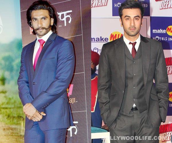 Does Ranbir Kapoor make Ranveer Singh insecure?