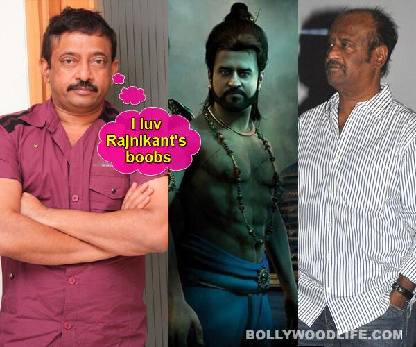 Ram Gopal Varma takes a dig at Rajinikanth's boobs in Kochadaiiyaan - Read full story!