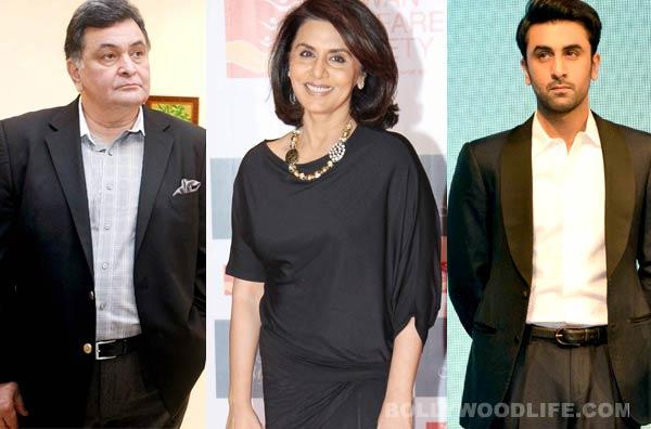 Neetu Kapoor chooses husband Rishi over son Ranbir Kapoor!