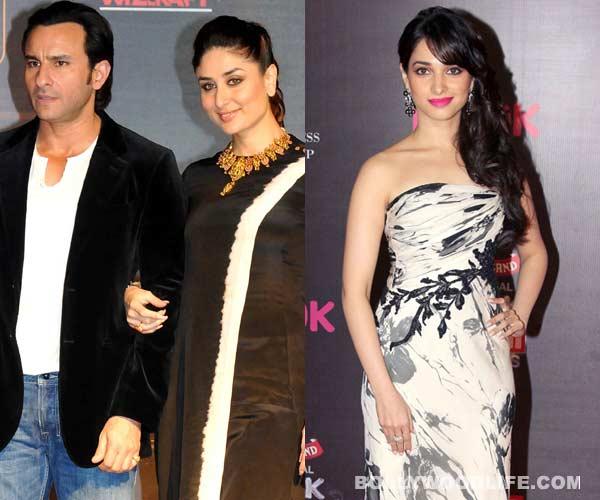 Tamannaah bonds with Saif Ali Khan and Kareena Kapoor Khan