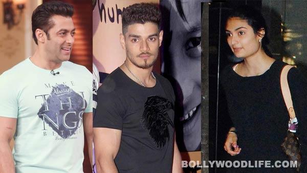 Salman Khan impressed with Suraj Pancholi and Athiya Shetty