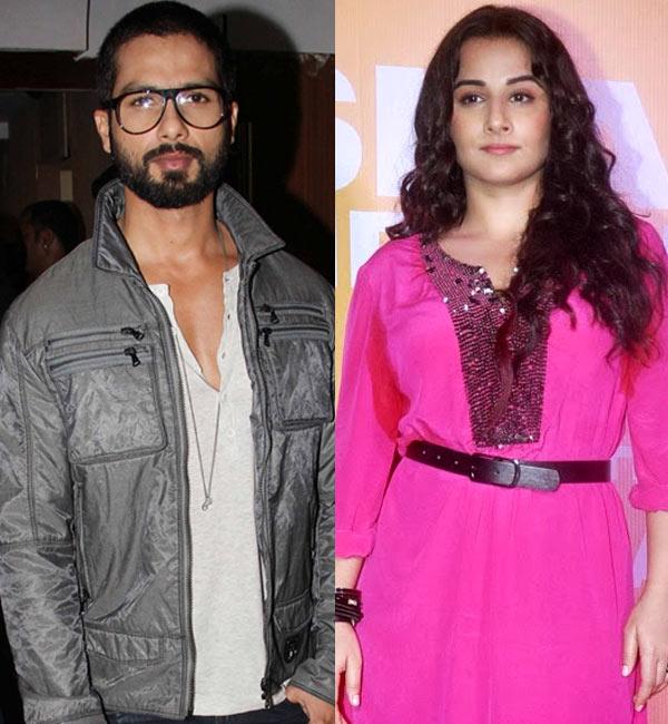 Vidya Balan attends Shahid Kapoor's father Pankaj Kapur's birthday bash!