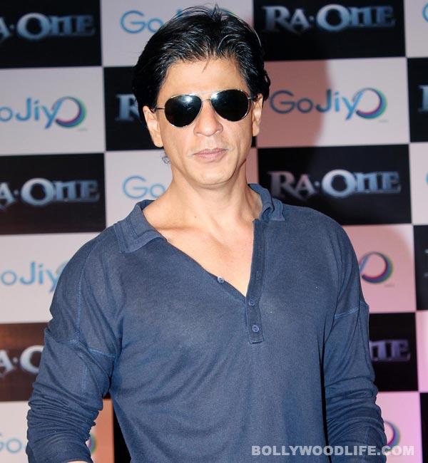 Is Shahrukh Khan giving acting gyaan?