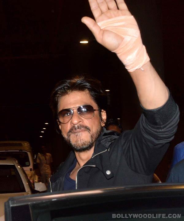 Is Shahrukh Khan injured again?