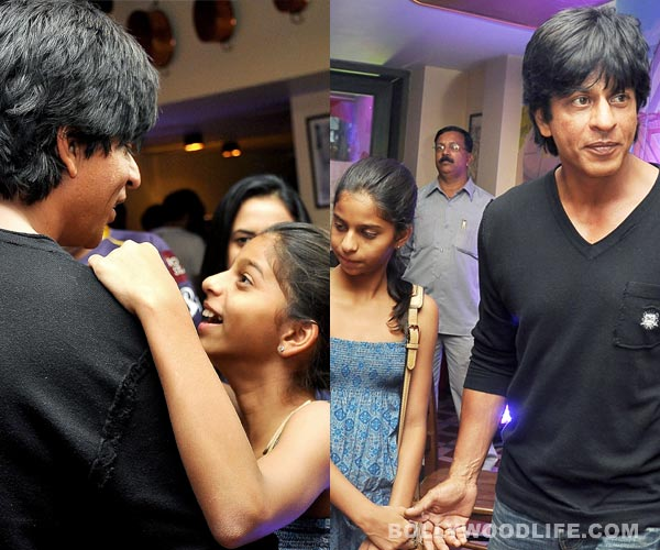 Image result for shahrukh khan candid photo suhana